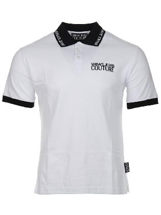 Polo Piquet White-Black