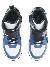 DSQUARED2 Icon Mid Sneakers Box Sole Lace+strap Icon Print Indigo/white/bl