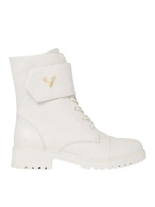 JV LULU Boots - off white