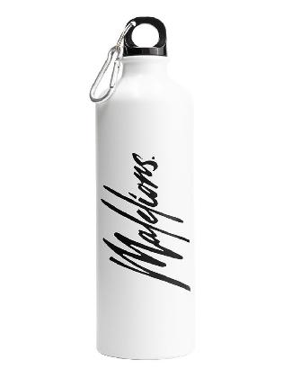 MaleLions Signature Travel Bottle White