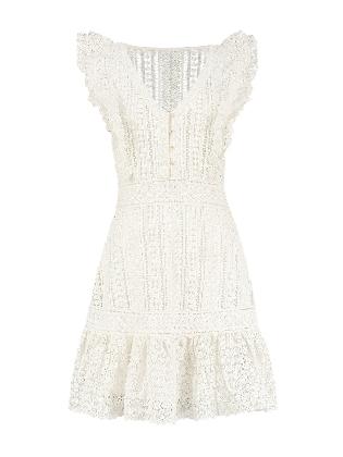 Richella Dress Star White