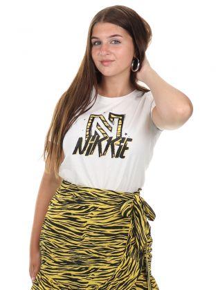 Animal Nikkie T-shirt Star White