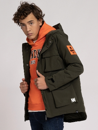 Lexton Padded Jacket Forest Green