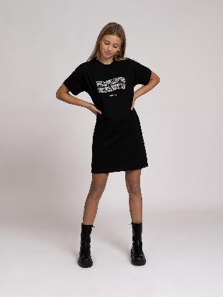 Keep Tee Dress Black