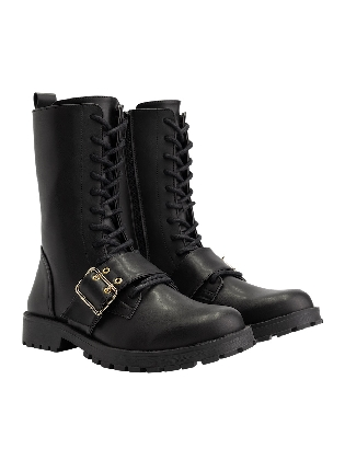 Kiomy Boots Black