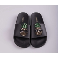 THE WHITEBRAND Slipper Pineapple black