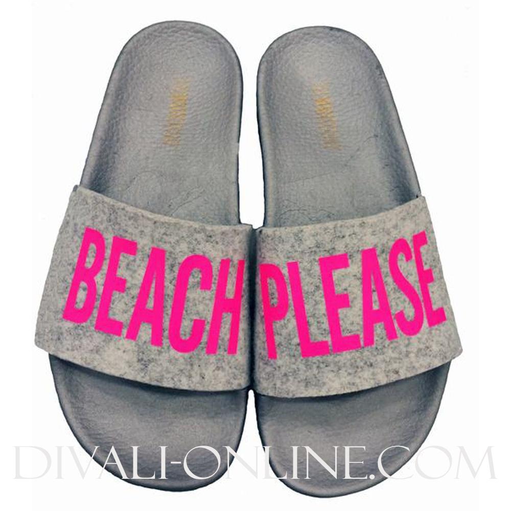 BEACH PINK FELT