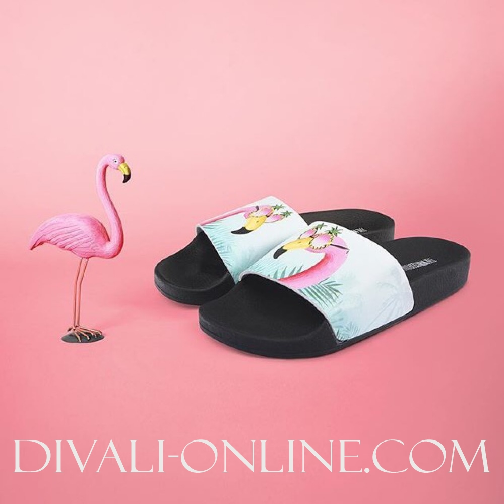 Slippers Flamingo