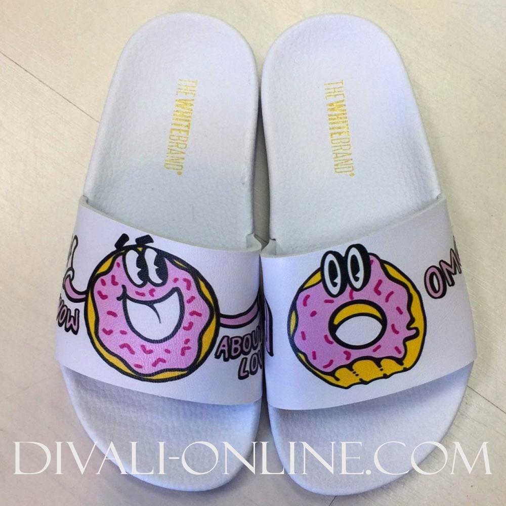 Slippers OMG White