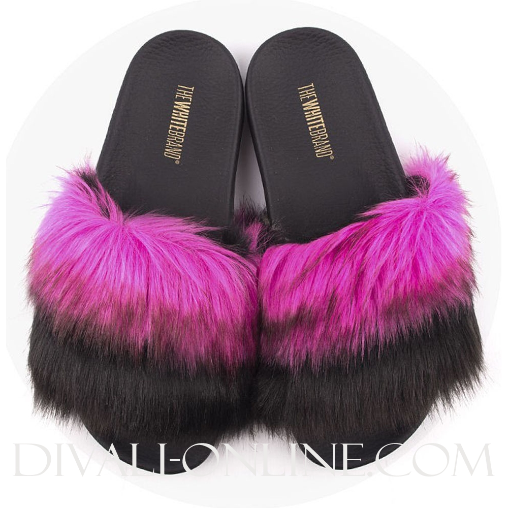 Slippers Pink Fur
