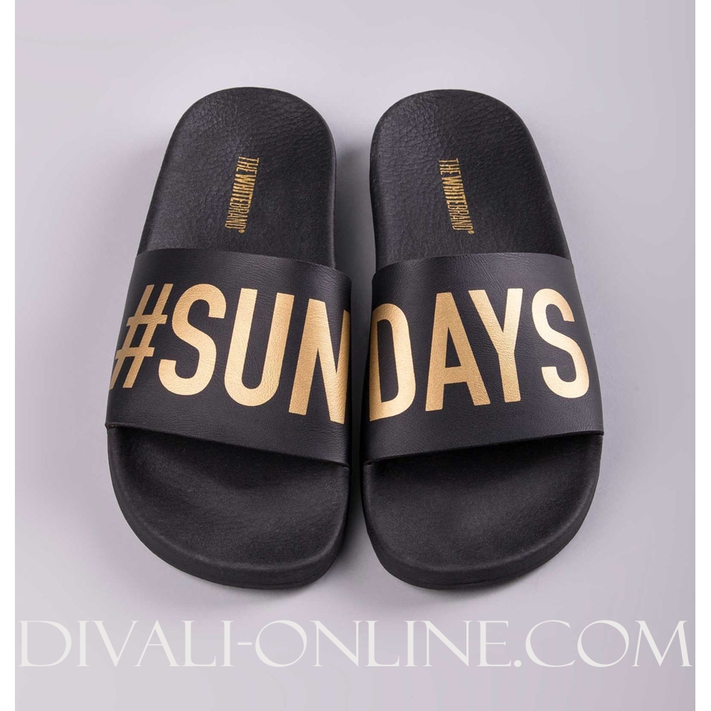 Slipper Sundays Black